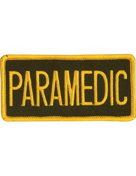 U-N125 Paramedic 2in x 4in Patch