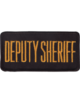 U-N127 Deputy Sheriff 2in x 4in Patch