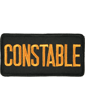 U-N128 Constable 2in x 4in Patch