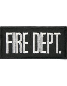 U-N129 Fire Department 2in x 4in Patch