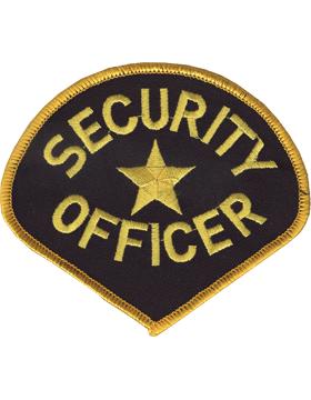 U-N144 Security Officer 4in Patch