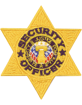 U-N201 Security Officer Six Point Star