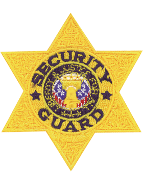 U-N202 Security Guard Six Point Star small