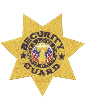 U-N203 Security Guard Seven Point Star