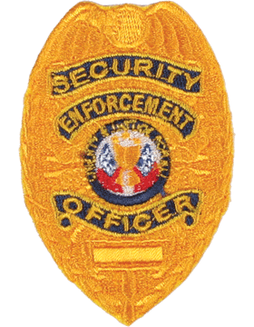 U-N205 Security Enforcement Officer Shield