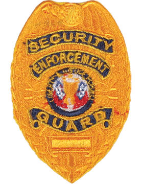 U-N206 Security Enforcement Guard Shield