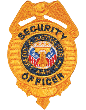 U-N207 Security Officer #20 Shield