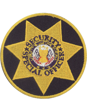 U-N216 Security Special Officer Seven Point Star in Circle small