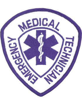 U-N325 Emergency Medical Technician (EMT) Patch 4in x 3.75in