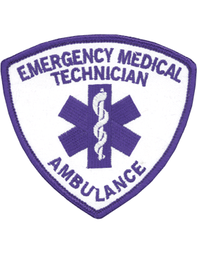 U-N326A Emergency Medical Technician (EMT) with Ambulance Patch