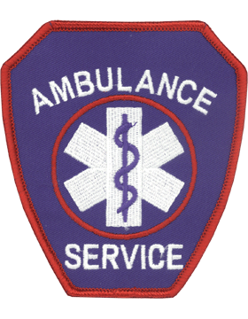 U-N329 Ambulance Service Patch