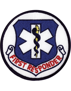 U-N331 First Responder 3in Patch small