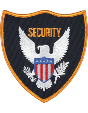U-N350 Security with Eagle 4.5in Patch