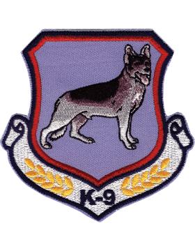 U-N408 K-9 Shield with Dog Patch