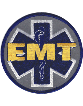U-N409 Emergency Medical Technician (EMT) Round Patch