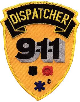 U-N414 911 Dispatcher Patch