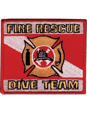 U-N423 Fire Rescue Dive Team Patch