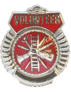 Tie Tac (U-T112S) Volunteer Silver
