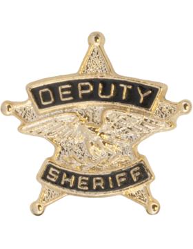 Tie Tac (U-T114G) Deputy Sheriff Gold