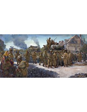 WWII Unframed Canvas Print Day of Days