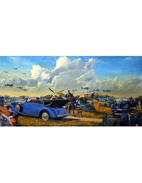 WWII Unframed Canvas Print High Summer