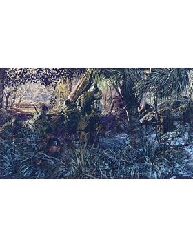 WWII Unframed Canvas Print Jungleers