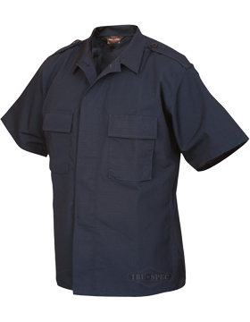 Short Sleeve Poly-Cotton Ripstop Tactical Shirt 1001