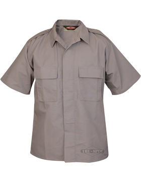Short Sleeve Poly-Cotton Ripstop Tactical Shirt 1002