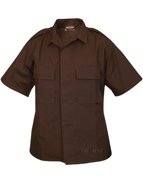 Short Sleeve Poly-Cotton Ripstop Tactical Shirt 1004