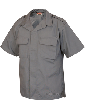 Short Sleeve Poly-Cotton Ripstop Tactical Shirt 1005