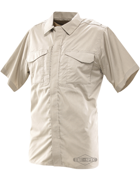 Men's 24-7 Series® Ultralight Short Sleeve Poly-Cotton Uniform Shirt 1046