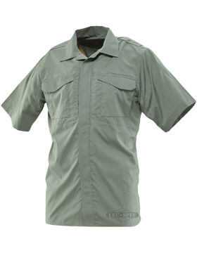 Men's 24-7 Series® Ultralight Short Sleeve Poly-Cotton Uniform Shirt 1048