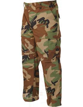 Basic BDU Trousers Ctn/Poly Ripstop 1583