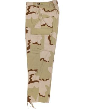 BDU Trouser 3 Desert Camo 50 Nyl/50 Ctn Ripstop F5201