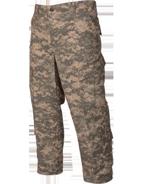 ACU Trouser 50 Nylon/50 Ctn Ripstop with Elastic Waist