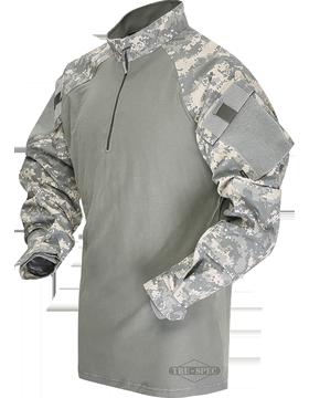 T.R.U.® Nylon-Cotton Ripstop Tactical Response Combat Shirt 2542 small