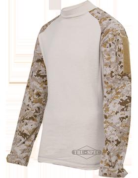 Combat Shirt Poly/Ctn Ripstop 2557