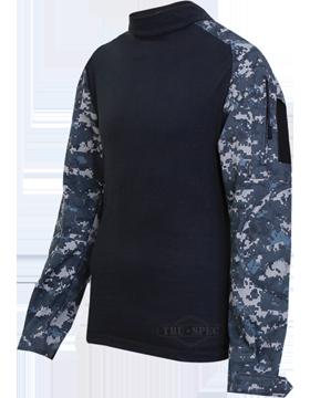Combat Shirt Poly/Ctn Ripstop 2558