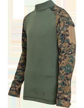 Combat Shirt Poly/Ctn Ripstop 2559