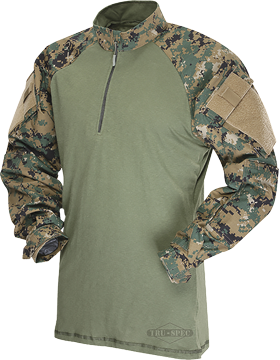 T.R.U.® Poly-Cotton Ripstop Tactical Response Combat Shirt 2569