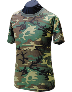 Camo S/S T-Shirt Poly/Cotton 4325