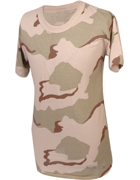 Camo S/S T-Shirt Poly/Cotton 4335