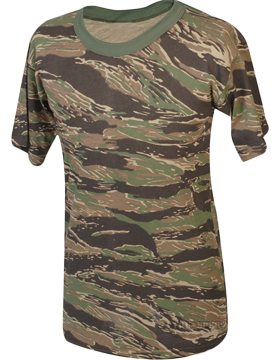 Camo S/S T-Shirt Poly/Cotton 4341