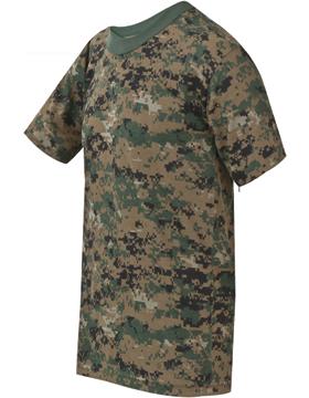 Camo S/S T-Shirt Poly/Cotton 4380