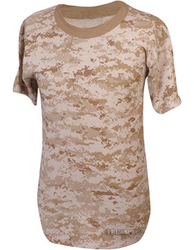 Camo S/S T-Shirt Poly/Cotton 4381