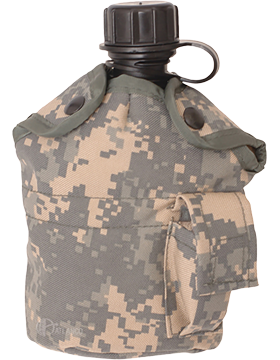 Canteen Cover with Clips 1 Quart  ACU 4769