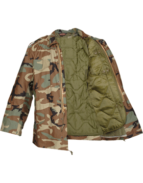 M-65 Field Coat (Shirt) Woodland F5420