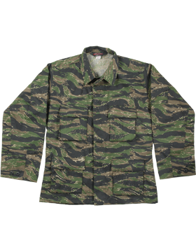 BDU Coat (Shirt) Tiger Camo F5454 small