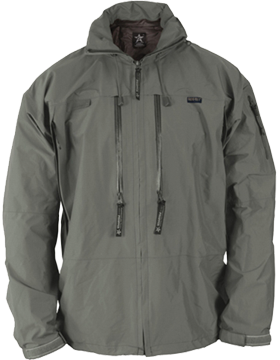 APCU Level VI Rain Jacket Alpha Green F7408