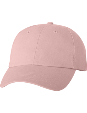 Adult Bio-Washed Unstructured Cap VC300A Pink